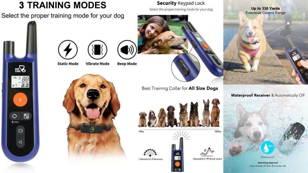 DOG-CARE-Dog-Training-Collar